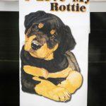 Rottweiler Kitchen Hand Towel 2