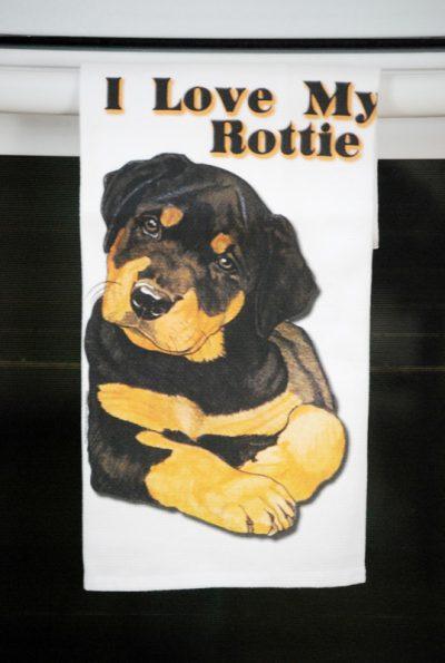 Rottweiler Kitchen Hand Towel