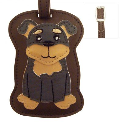 Rottweiler Dog Luggage Tag Briefcase Gym Backpack Travel ID