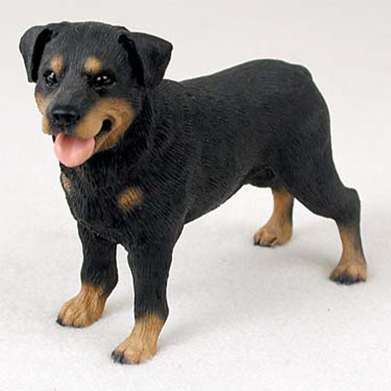 rottweiler_medium_dog_figurine