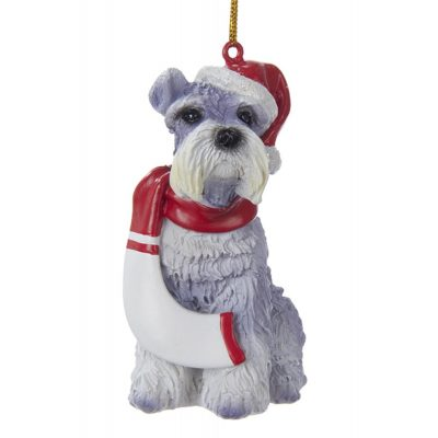 schnauzer-resin-ornament