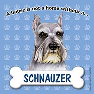 Schnauzer Dog Magnet