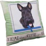 Scottish Terrier Pillow 16x16 Polyester