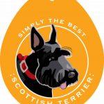 Scottish Terrier Sticker 4×4″ 1