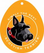 Scottish Terrier Sticker 4x4""