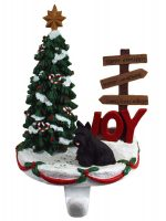 Scottish Terrier Stocking Holder Hanger