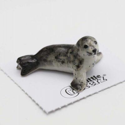Seal Porcelain Figurine