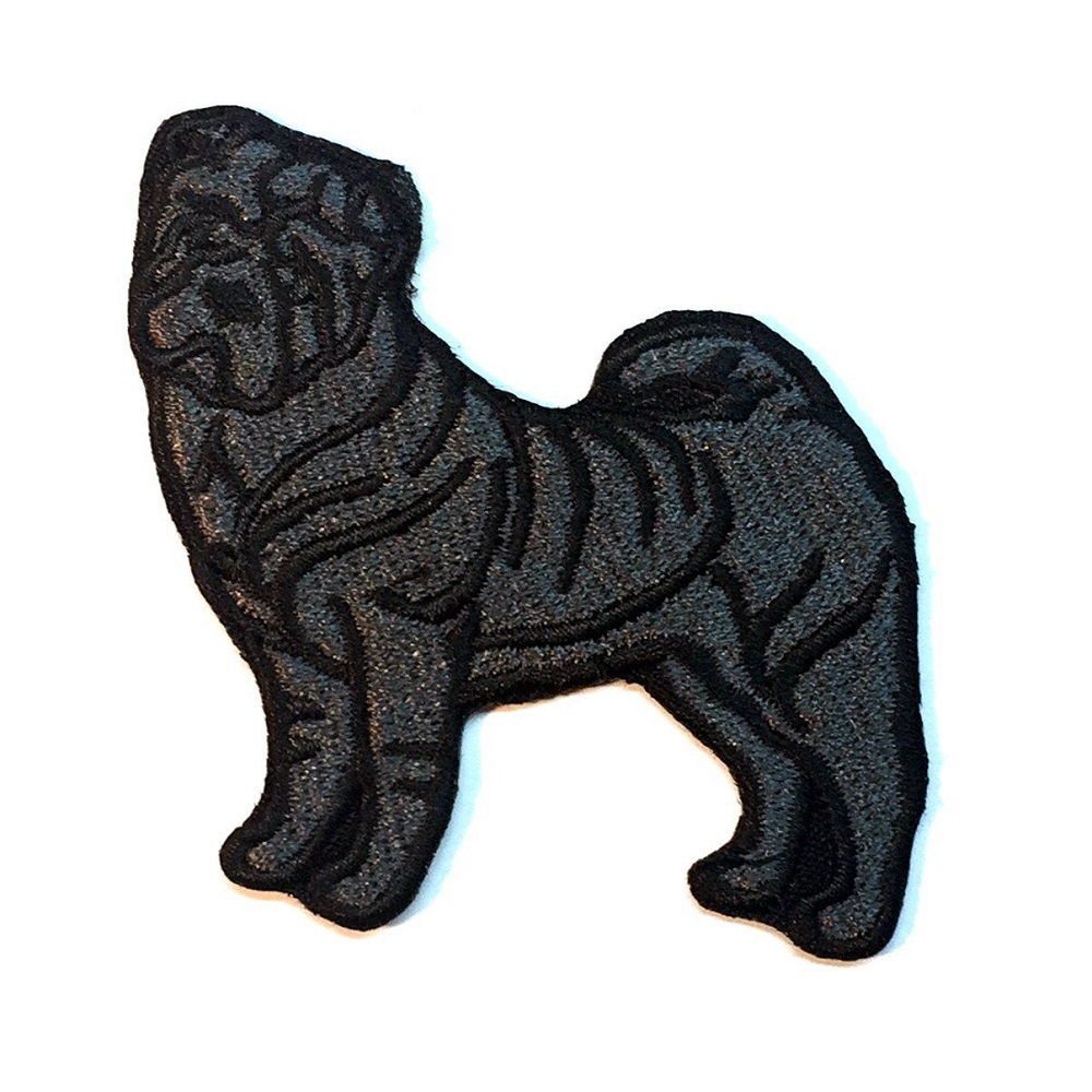 Sharpei Patch Black