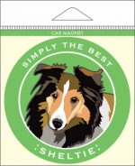 Sheltie Car Magnet 4x4""