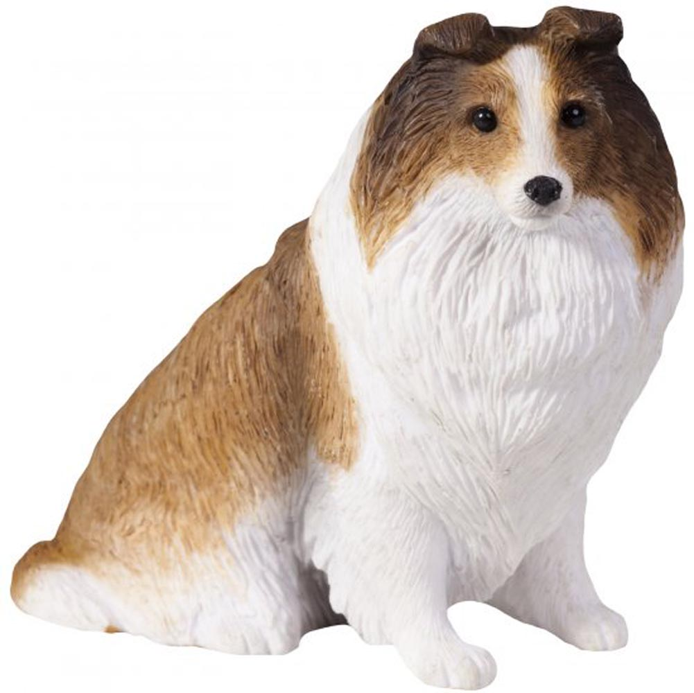 Sheltie Figurine Hand Painted Sable - Sandicast