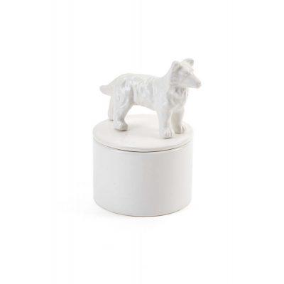 Sheltie Jewelry Box Porcelain 1