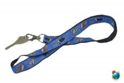 Sheltie Lanyard Key Holder Badge Holder