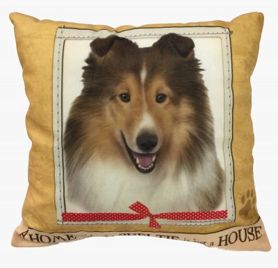 Sheltie Pillow 16×16 Polyester 1