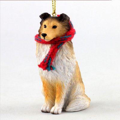 sheltie-sable-scarf-ornament