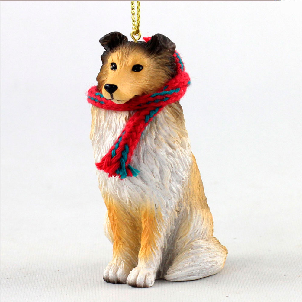 sheltie-sable-scarf-ornament