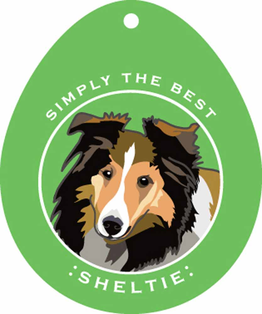 Sheltie Sticker 4x4""