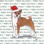 Shiba Inu Dog Coasters Christmas Themed 1