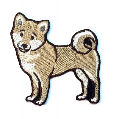 shiba-inu-iron-on-embroidered-patch