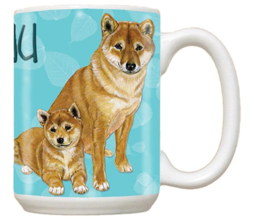 Shiba Inu Ceramic Mug 15 Ounces