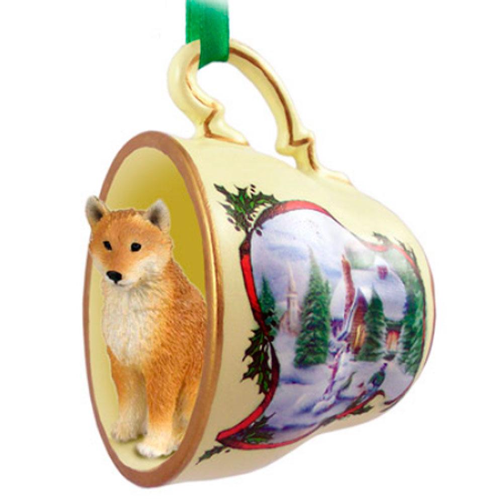 Shiba Inu Ornament Teacup