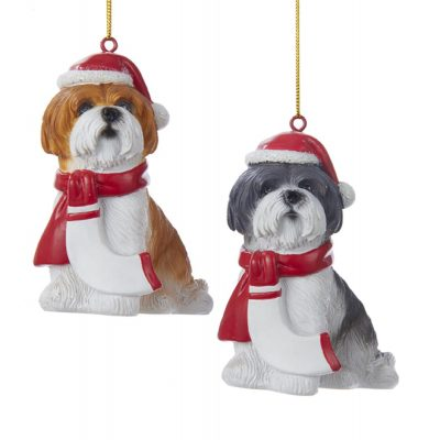 shih-tzu-resin-ornament