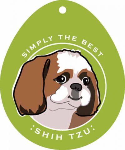"""Shih Tzu Sticker 4x4"""""""