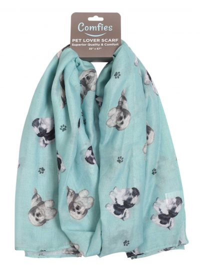 Shih Tzu Scarf -Lightweight Cotton Polyester