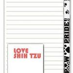 Shih Tzu Dog Notepads To Do List Pad Pencil Gift Set Puppy Cut 1