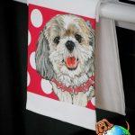 Shih Tzu Kitchen Hand Towel Puppy Cut 1