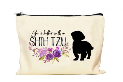 Shih Tzu Makeup bag