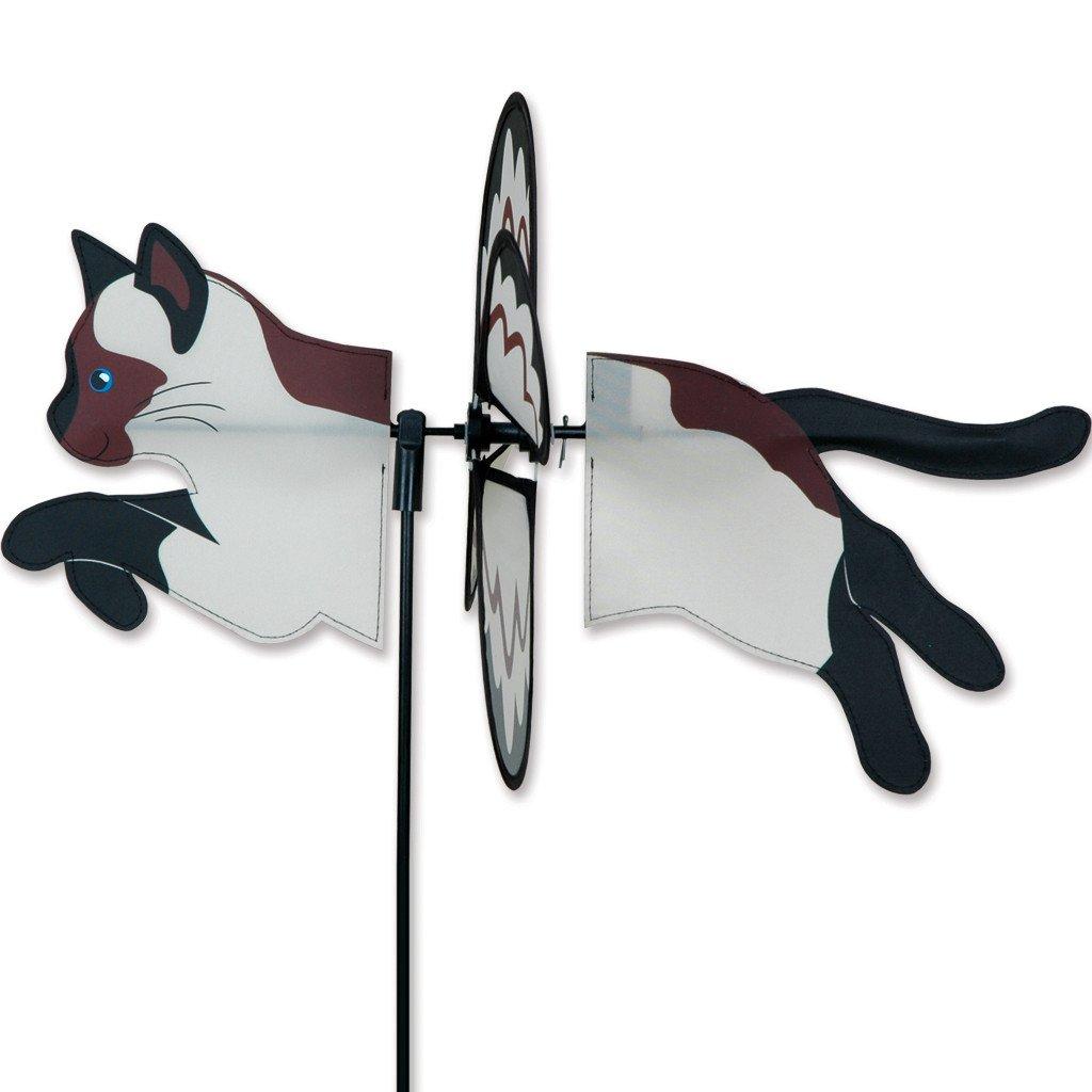 Siamese Cat Garden Wind Spinner