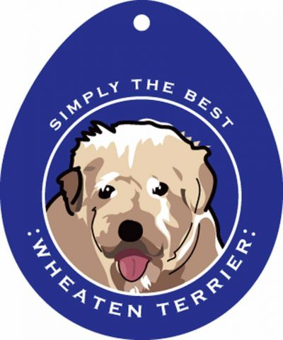 Soft Coated Wheaten Terrier Sticker 4×4″ 1
