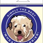 Soft Coated Wheaten Terrier Car Magnet 4×4″ 1