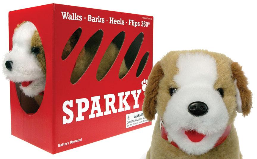 Flipping Barking Walking Toy Dog Puppy