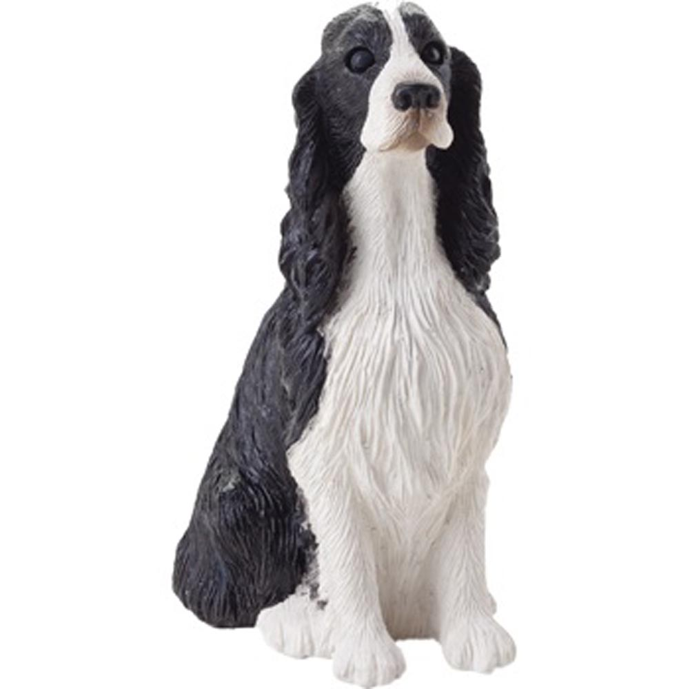 Springer Spaniel Figurine Hand Painted - Sandicast