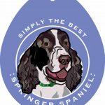 Springer Spaniel Sticker 4×4″ 1