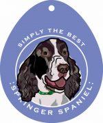 "Springer Spaniel Sticker 4x4"""