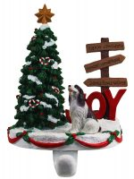 Springer Spaniel Stocking Holder Hanger Liver