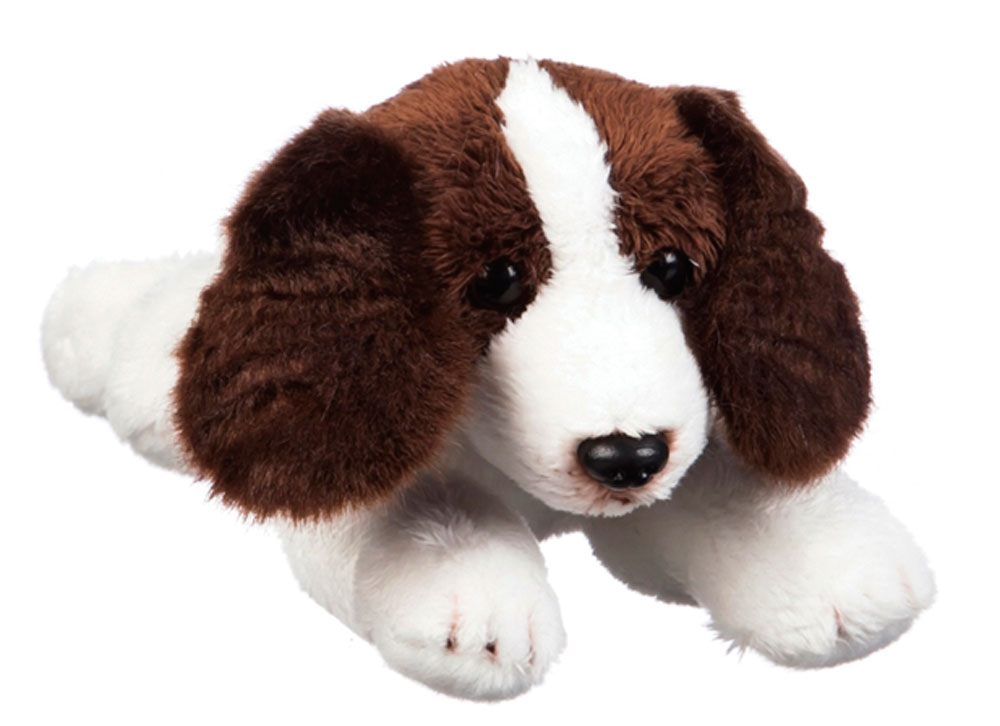 Springer Spaniel Bean Bag Stuffed Animal Brown