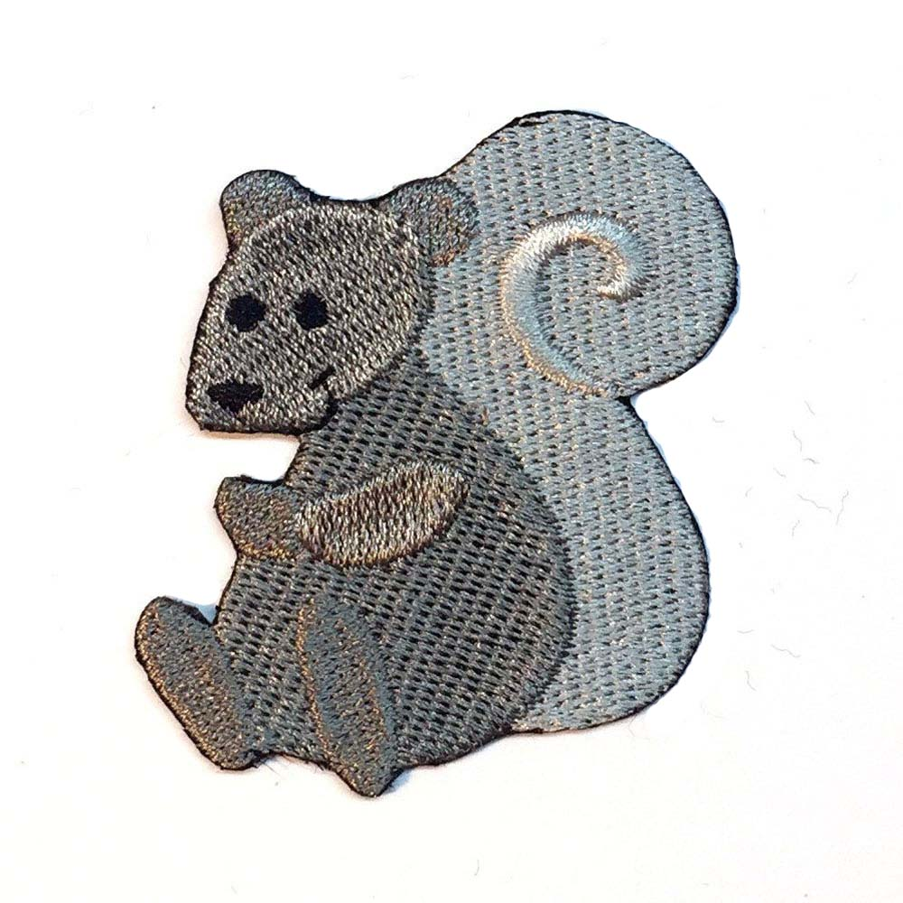 Squirrel Patch Gray