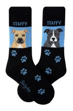Staffordshire Bull Terrier Socks