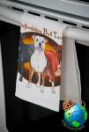 Staffordshire Bull Terrier Kitchen Hand Towel
