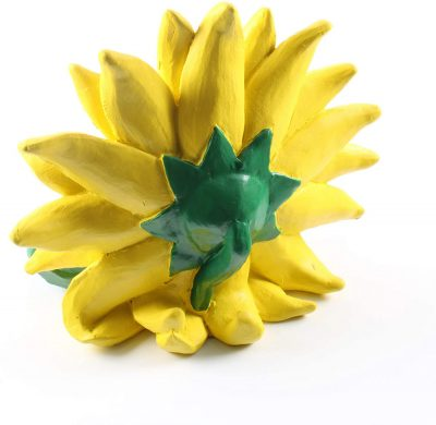 Back Side of Sunflower Figurines