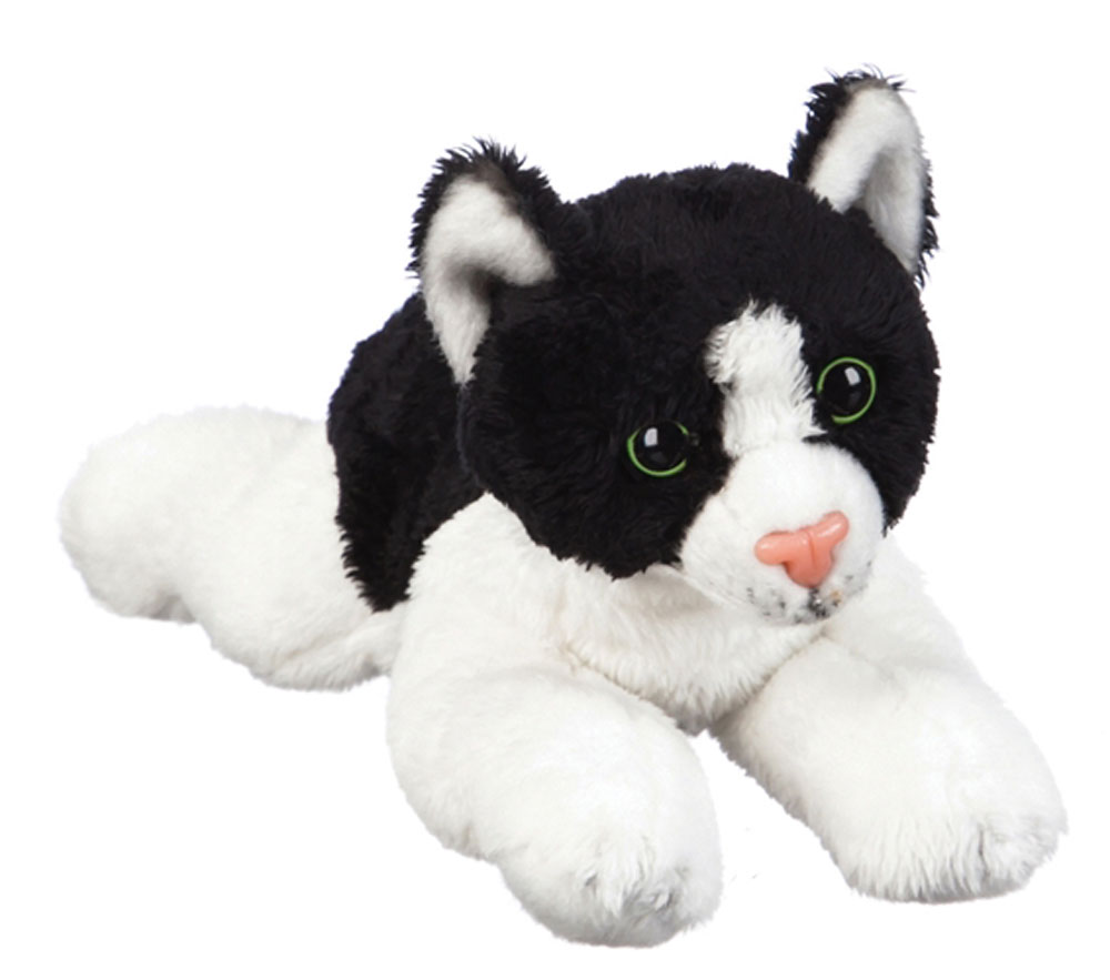 Tuxedo Cat Stuffed Animal Bean Bag Cat