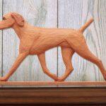 vizsla-figurine-plaque