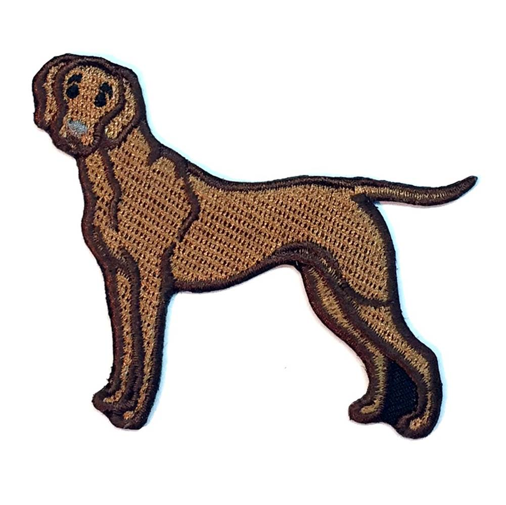Vizsla Iron on Embroidered Patch