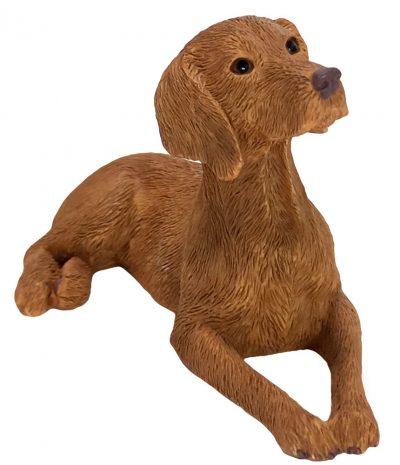 vizsla-sandicast-figurine-laying