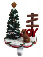 Vizsla Stocking Holder Hanger