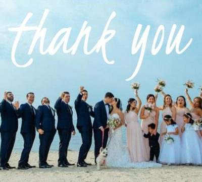 Thank you Wedding Card!