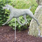 Weimaraner Garden Stake Outdoor Sign